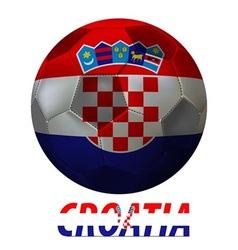 croatia vector image