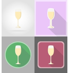 celebration flat icons 07 vector image vector image