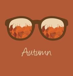 hello autumn2 vector image