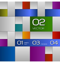 Colors Squares vector image vector image
