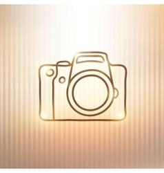 photo camera vector image