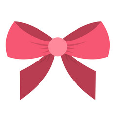 Bow icon isolated vector