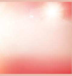 flash pink light sparkle vector image