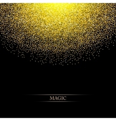 Glitter Background with space for your text vector image