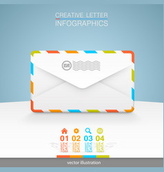 letters on a white background vector image