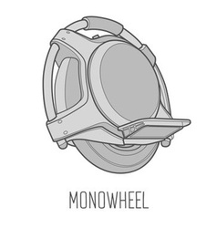 Monowheel Icon vector
