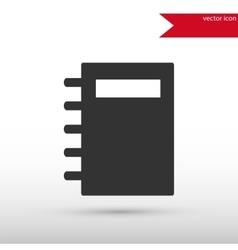 Organizer icon Organizer symbol Flat design vector image