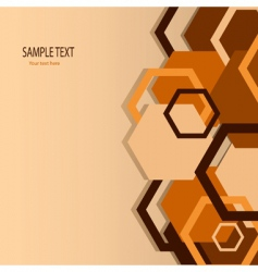 Stylish orange banner vector illustration vector