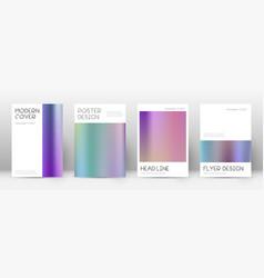 Flyer layout minimal sublime template for brochur vector