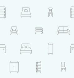 furniture background 06 vector image
