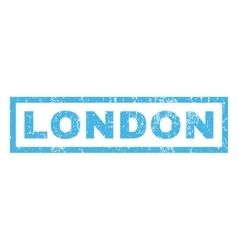 London Rubber Stamp vector image