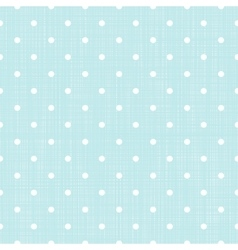 Polka dot seamless background vector image