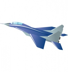 fighter vector image vector image