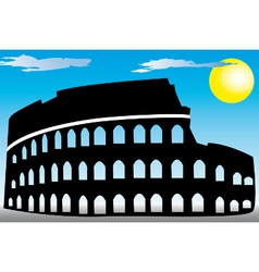 Rome Colosseum vector image vector image