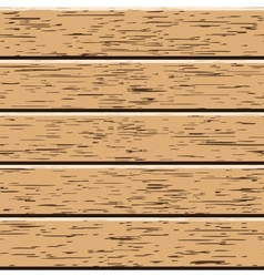 Wooden boards vector image