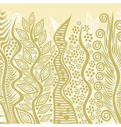 Nature pattern background vector image