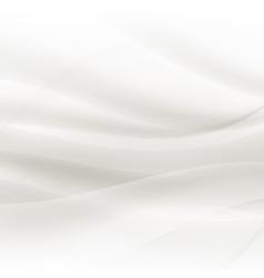 Abstract grey pearl elegant waves vector image