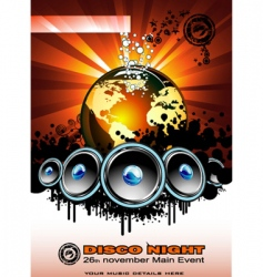 music event vector image vector image