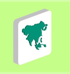 Asia computer symbol vector