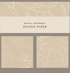 Chic feminine background or digital paper vector