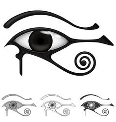Eye horus symbol ancient egypt vector
