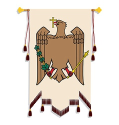 Heraldic eagle vector