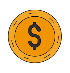 money icon image vector image