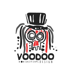 Original voodoo magic logo template design vector