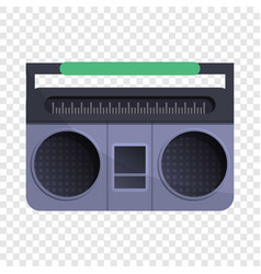 Retro boom box icon cartoon style vector