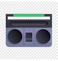 retro boom box icon cartoon style vector image