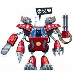 Robo-cat vector