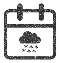 Snow Day Grainy Texture Icon vector