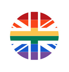 uk flag icon vector image