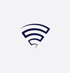 wifi logo icon symbol element vector image
