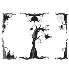Halloween ornament vector image vector image
