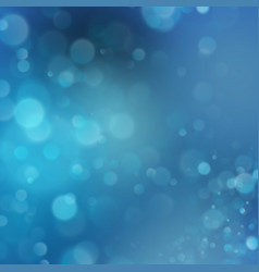 abstract particle with blue background eps 10 vector image