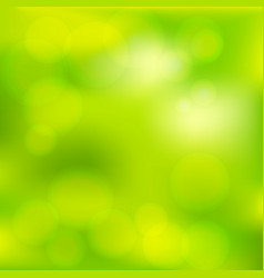 Bright colorful modern smooth juicy green yellow vector