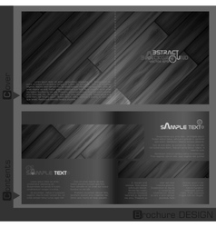 Brochure Template Design vector