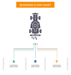 car formula game racing speed business flow chart vector image
