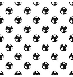 Football ball pattern vector