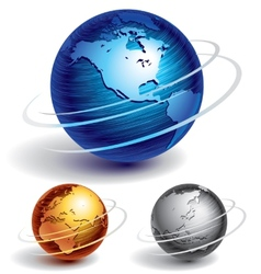 globe spinning vector images over 130