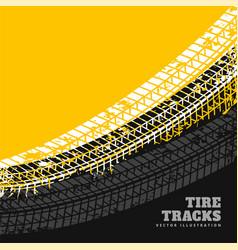 Grunge tire marks background design vector