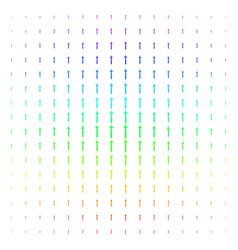 medieval sword icon halftone spectrum effect vector image