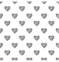 Shaded heart pattern seamless vector