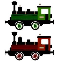steam train locomotive vector image