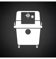 Vacuum cleaner icon vector