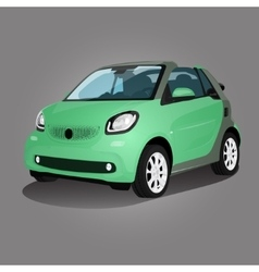Printgreen compact vehicle vector image