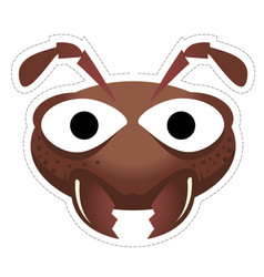 ant mask vector image