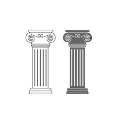 Ionic-columns vector