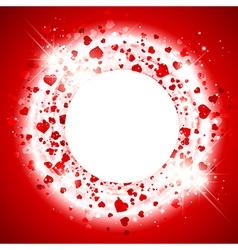 StValentine Day Heart Background vector